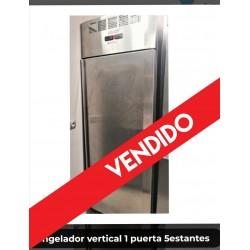 Congelador vertical 1 puerta 5estantes
