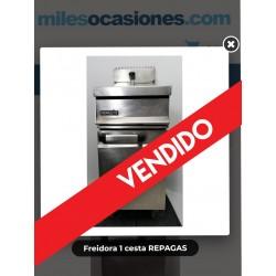 Freidora 1 cesta REPAGAS