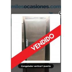 Congelador vertical 1 puerta