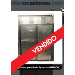 Congelador pastelería 2puertas INFRICO