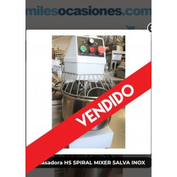 Amasadora HS SPIRAL MIXER SALVA INOX