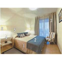 Dormitorio de Matrimonio LOTE COMPLETO IBIZA
