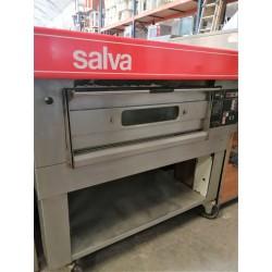 Horno pizza modular con mesa con ruedas SALVA
